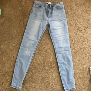 Forever21 high rise skinny jeans
